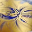 Jardín Suculento Ed. Índigo (7 Tintas + Foil Dorado).. Un proyecto de Ilustración, Bellas Artes y Serigrafía de Violeta Hernández - 06.06.2016