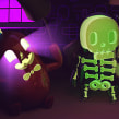 Discovery Kids Halloween/Día de Muertos. A Design, 3D, Animation, Art Direction, To, and Design project by MEMOMA Estudio - 11.06.2015