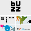Buzz TV channel. A Br, ing, Identit, T, and pograph project by Enric Jardí - 08.17.2016