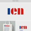 Rediseño logo IEN. Un proyecto de Br, ing e Identidad y Tipografía de Enric Jardí - 18.08.2016