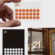 Imagen restauranrante 21 plats. Un proyecto de Br, ing e Identidad y Tipografía de Enric Jardí - 18.08.2016