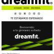Diseño Campaña DreamFit - Email Marketing. Un proyecto de Marketing de Néstor Tejero Bermejo - 20.09.2016