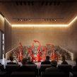 Centro Cultural en Beijing. Un proyecto de Diseño, Fotografía, 3D, Arquitectura, Arquitectura interior, Postproducción e Infografía de Phrame - 31.08.2015