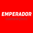 Emperador (Custom font). A T, and pograph project by Quique Ollervides - 08.04.2014