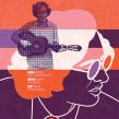 GIG POSTERS 02 (carteles/posters/afiches para la música). Um projeto de Ilustração, Design gráfico e Serigrafia de Quique Ollervides - 12.03.2015