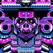 Mictlantecuhtli - Lord of Mictlan. Un proyecto de Ilustración y Cómic de Galamot Shaku - 21.10.2016