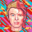 Retratos Pixel Art. Un proyecto de Ilustración de Galamot Shaku - 29.10.2016