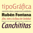 Tipografía Fontana. Un proyecto de Tipografía de Bauertypes - 13.11.2016