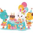Happy Birthday!. Um projeto de Design, Ilustração e Design de personagens de Pamela Barbieri - 18.05.2015
