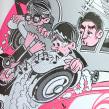 Oro Negro: 25 años sin Tino Casal. Um projeto de Ilustração e Design de personagens de Ink Bad Company - 08.12.2016
