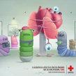 Cruz Roja: Donación de órganos - Gusanos. Um projeto de Publicidade e Marketing de Daniel Granatta - 04.05.2012