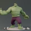 Hulk. Un proyecto de Ilustración, 3D, Animación y Escultura de Luis Arizaga - 12.02.2017