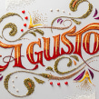 A Gusto. A Crafts, Cooking, Graphic Design, T, pograph, Writing, and Calligraph project by Panco Sassano - 09.25.2014