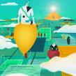 Aether Passengers. Un proyecto de Ilustración y Dirección de arte de Andrea Gendusa - 12.02.2017
