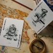 Aviator Playing cards. Un proyecto de Ilustración, Diseño de producto y Tipografía de Abraham García - 09.09.2015
