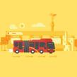 Google Transit. Un proyecto de Ilustración, Motion Graphics y Animación de Sociedad Fantasma - 20.02.2017