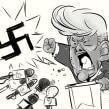 Mr. Trump!. Un proyecto de Ilustración de Iker J. de los Mozos - 17.03.2017