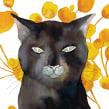 El gato que andaba solo. A Illustration project by Adolfo Serra - 03.05.2017