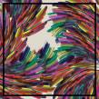 Diseño de estampado para pañuelos de seda. Un proyecto de Diseño, Moda y Pattern Design de Mónica Muñoz Hernández - 11.05.2017