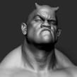 Demon head,modelado en Zbrush.. A 3D project by Rafa Zabala - 05.13.2017
