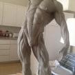 Estudio de anatomía en plastilina. A 3D, and Sculpture project by Rafa Zabala - 05.23.2017