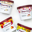 Estampado para Häagen Dazs. A Design, Illustration und Verpackung project by Mónica Muñoz Hernández - 09.06.2017