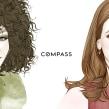 Retratos para COMPASS New York . Un proyecto de Ilustración de Mercedes deBellard - 06.07.2016