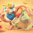 Mr. Lemonade. Un proyecto de Ilustración y 3D de Fer Aguilera Reyes - 11.07.2016