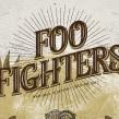 FOO FIGHTERS. Un proyecto de Ilustración, Diseño gráfico y Collage de Error! Design (Xavi Forné) - 13.07.2017