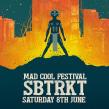 SBTRKT Mad Cool Poster. Un proyecto de Diseño, Ilustración, Música y Audio de Oscar Giménez - 31.07.2017