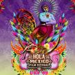 """Diseño de cartel para festival """"Hola México. Film Festival"""" exhibido en USA, Australia, Nueva Zelanda. Un proyecto de Diseño, Cine, vídeo, televisión, Dirección de arte, Diseño gráfico y Collage de Zoveck Estudio - 04.11.2009"""