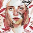 Portada Revista digital (Kluid Magazine). Un progetto di Design, Illustrazione , e Belle arti di Ana Santos - 25.08.2017