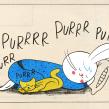 Motorcito - Churro, el conejo (comic). Un proyecto de Ilustración, Diseño de personajes y Cómic de Gastón Caba - 25.08.2017