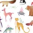 Animales. Un proyecto de Ilustración de Mercedes deBellard - 03.09.2017
