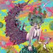 Imagen en serigrafía la sirena. Un proyecto de Ilustración, Artesanía, Bellas Artes y Collage de Zoveck Estudio - 11.09.2016