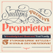 Proprietor — Type Family. Un proyecto de Tipografía de Yani&Guille - 18.09.2017