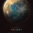 TRAPPIST - 1. A Illustration project by Guillem H. Pongiluppi - 06.01.2017