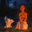 Moana - Pua. A 3D, Animation, Character Design, Rigging, and Character animation project by Iker J. de los Mozos - 10.14.2017