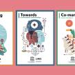 UNESCO 18 posters ilustrados EXPOSICIÓN ITINERANTE. Un proyecto de Ilustración, Dirección de arte y Diseño gráfico de Del Hambre - 16.10.2017