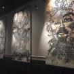 Collografías en gran formato. Exhibición en Centro Panteón. Mexico . Un proyecto de Dirección de arte, Artesanía, Bellas Artes, Escenografía y Collage de Zoveck Estudio - 21.10.2017