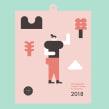 Calendario 2018 . Un proyecto de Ilustración, Diseño gráfico e Ilustración vectorial de Stereoplastika - 07.11.2017