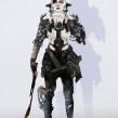 creación de personajes: boceto y acabado. Un proyecto de Cine, vídeo, televisión, Diseño de personajes y Diseño de juegos de J.Alexander Guillen - 14.11.2017