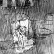 La de las botas rojas. A Comic project by Sole Otero - 09.01.2015