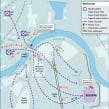 """Cartografías y esquemas para la colección """"Grandes batallas de la historia"""". Un proyecto de Diseño gráfico y Diseño de la información de Trineo - 01.03.2007"""