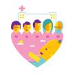 """Afiche, ilustraciones y animaciones para """"La semana del prematuro"""". Un proyecto de Ilustración, Animación, Diseño gráfico e Ilustración vectorial de Trineo - 01.05.2013"""