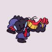 Drunk Man. Un proyecto de Animación de personajes de Josep Bernaus - 21.12.2017