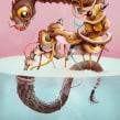 Monsters. Un proyecto de Ilustración de Óscar Lloréns - 17.01.2018