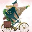 Felicitaciones navideñas de Correos. Un proyecto de Ilustración, Br, ing e Identidad y Marketing de PENCIL·ILUSTRADORES - 26.01.2018