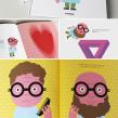 Look!. Un proyecto de Ilustración, Diseño editorial, Tipografía e Ilustración vectorial de Enric Jardí - 06.02.2018
