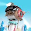 Energizer - Positive Land. Un proyecto de 3D, Animación y Animación de personajes de Javier Lourenço - 12.02.2018